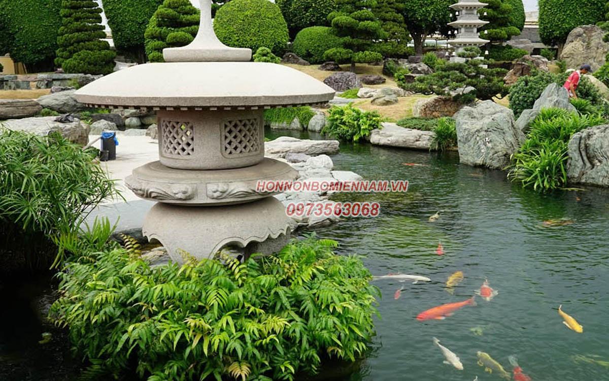 Thiết kế thi công hồ cá koi tại Tây Ninh. Ảnh: 2