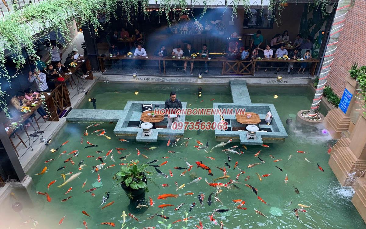 Thiết kế thi công hồ cá koi tại Tây Ninh. Ảnh: 4