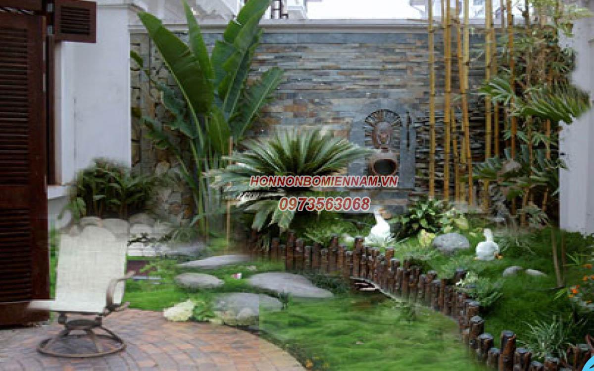 Thiết kế thi công tiểu cảnh sân vườn tại Bình Phước. Ảnh: 2