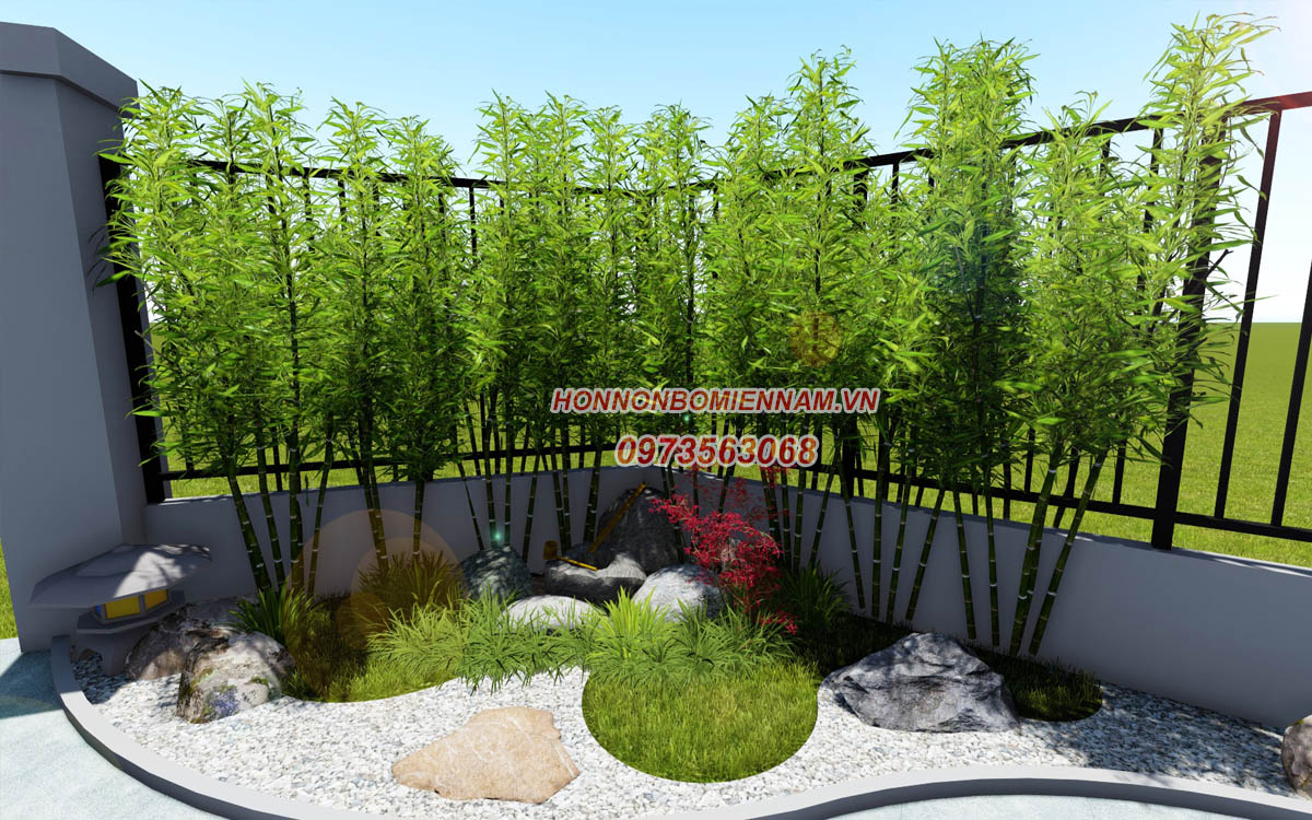 Thiết kế thi công tiểu cảnh sân vườn tại Bình Phước. Ảnh: 5