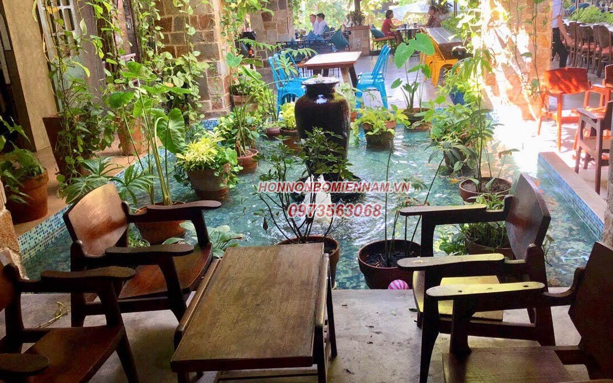 Thiết kế - thi công tiểu cảnh tại Đồng Nai. Tiểu cảnh quán cafe