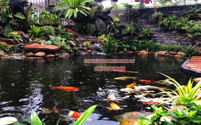 Thi công hồ cá koi tại quận Gò Vấp