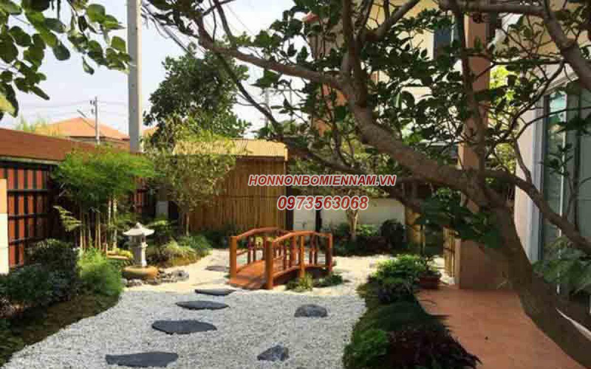 Tiểu cảnh sân vườn kiểu Nhật