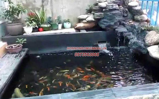 Thiết kế thi công hồ cá koi tại Đắk Lắk