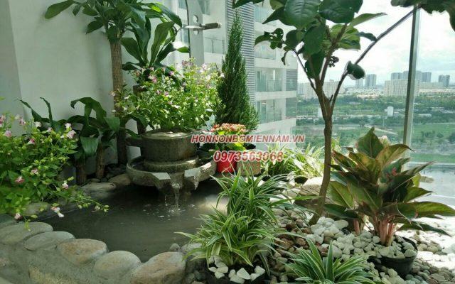 Thiết kế thi công tiểu cảnh sân vườn tại Tiền Giang