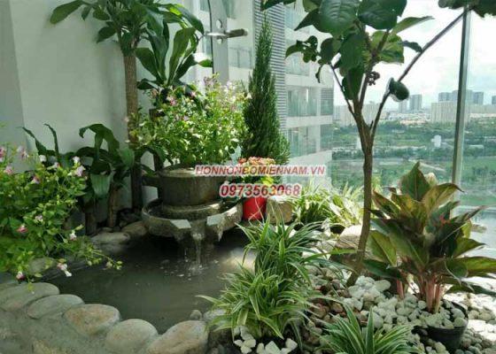 Thiết kế thi công tiểu cảnh sân vườn tại Đắk Lắk