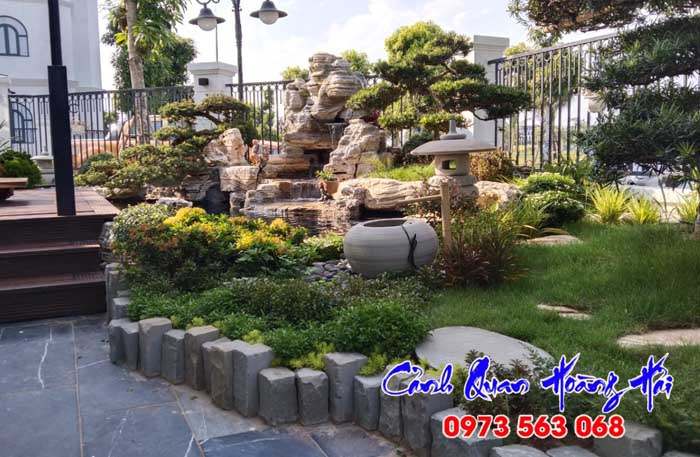 Thiết kế thi công sân vườn hồ cá koi