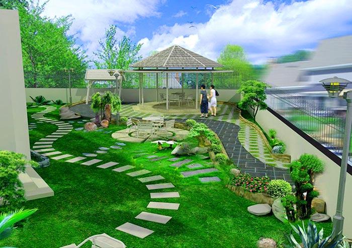 Tổng hợp mẫu sân vườn đẹp