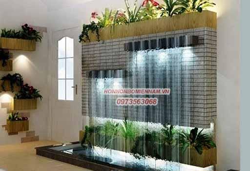 Tường thác nước phòng khách