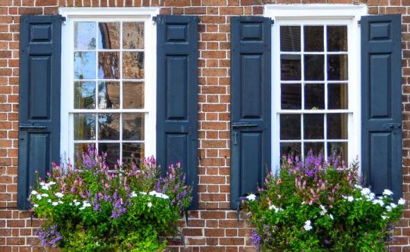 cửa đối xứng